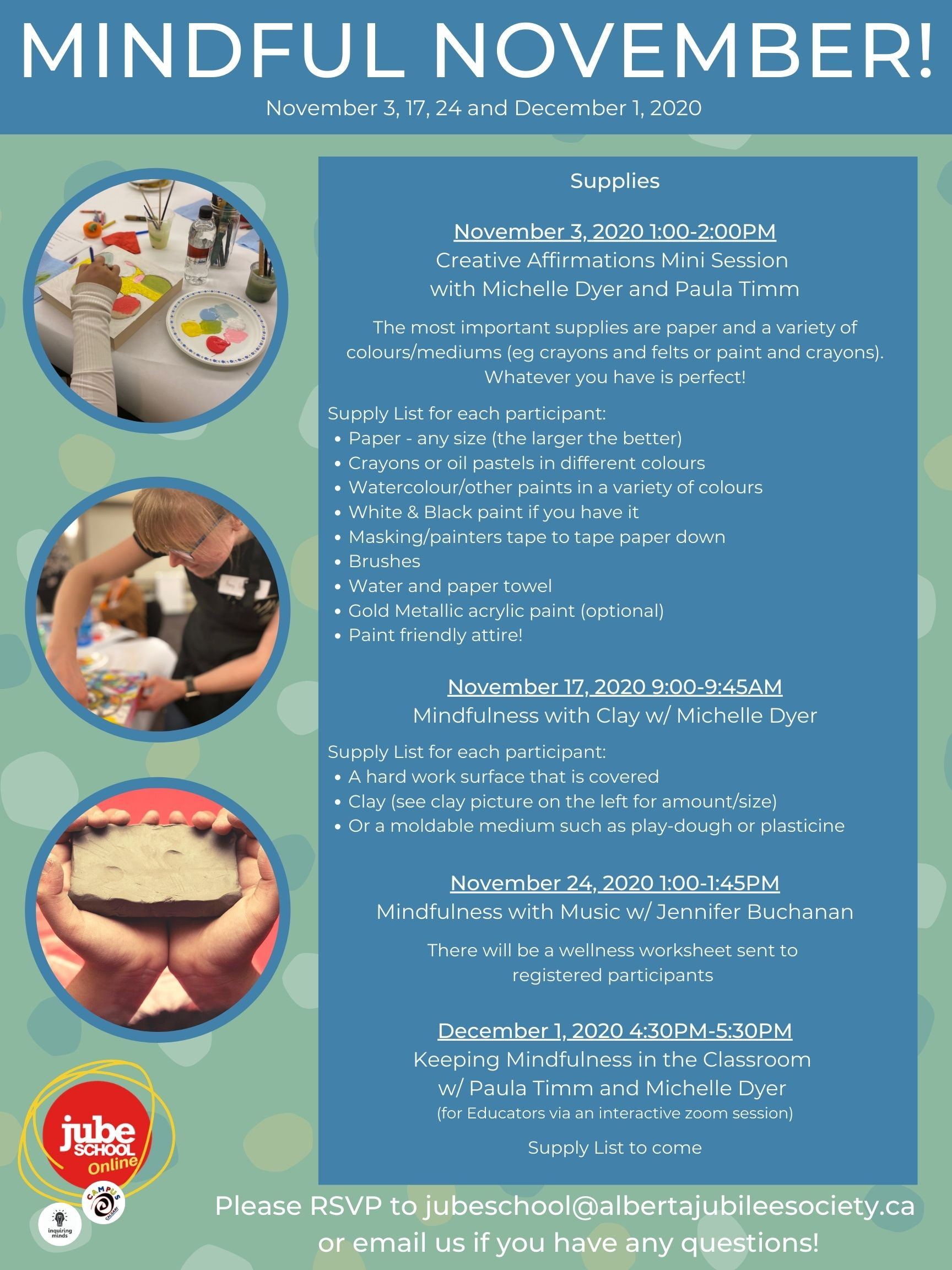 Jube School Mindful November 3